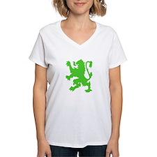 Lion Power - Light Green Shirt