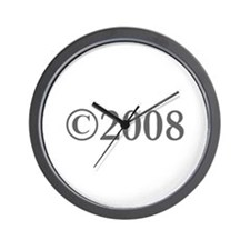 Copyright 2008-Gar gray Wall Clock