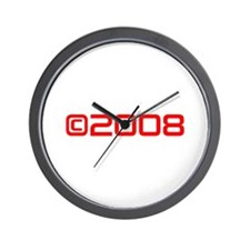 Copyright 2008-Sav red Wall Clock