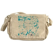 BWCA map Sawbill Messenger Bag