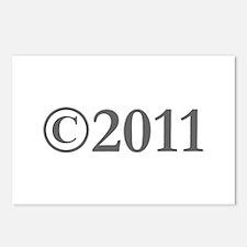 Copyright 2011-Gar gray Postcards (Package of 8)