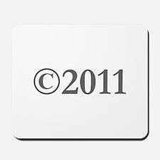 Copyright 2011-Gar gray Mousepad