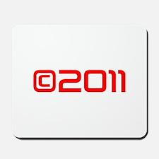 Copyright 2011-Sav red Mousepad