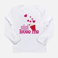 Gigi Loves Me Long Sleeve Infant T-Shirt