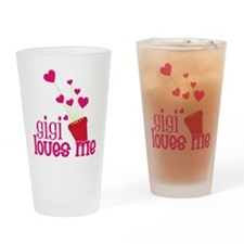 Gigi Loves Me Drinking Glass