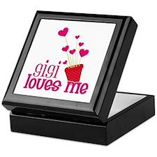 Gigi Loves Me Keepsake Box