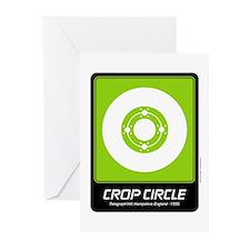 Telegraph Hill Crop Circle Greeting Cards (Pk of 1