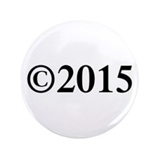 "Copyright 2015-Tim black 3.5"" Button (100 pack)"