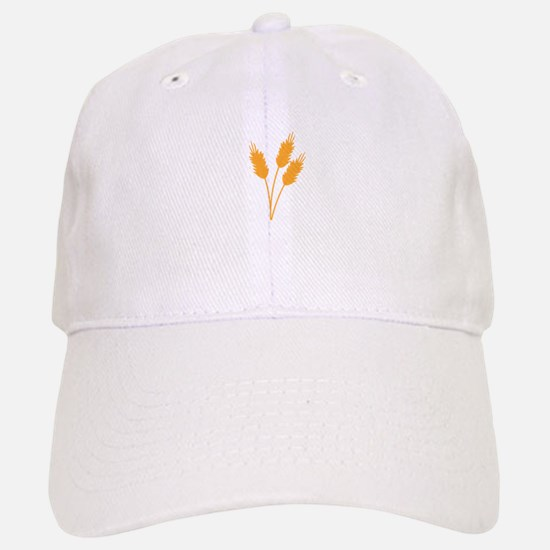 Wheat Stalk Baseball Baseball Baseball Cap