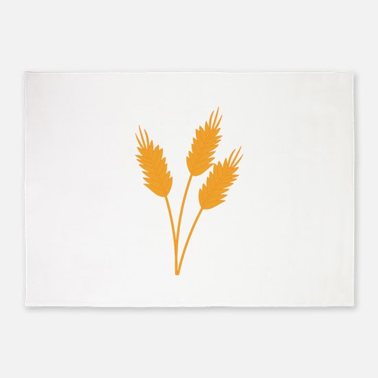 Wheat Stalk 5'x7'Area Rug