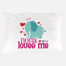 Nona Loves Me - Elephant Pillow Case