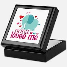 Nona Loves Me - Elephant Keepsake Box