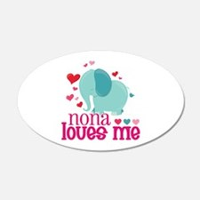 Nona Loves Me - Elephant Wall Decal