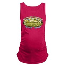 Support Your Local Farmers Maternity Tank Top