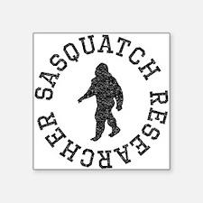Sasquatch Researcher (Distressed) Sticker
