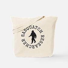 Sasquatch Researcher (Distressed) Tote Bag