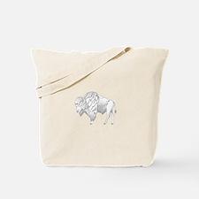 White Buffalo Tote Bag