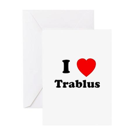 I heart Trablus Greeting Card