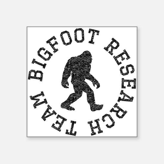 Bigfoot Research Team (Distressed) Sticker