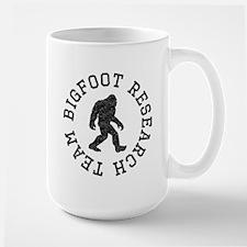 Bigfoot Research Team (Distressed) Mugs