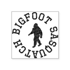 Bigfoot Sasquatch (Distressed) Sticker