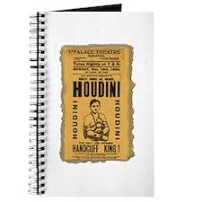 Vintage Houdini Poster Journal