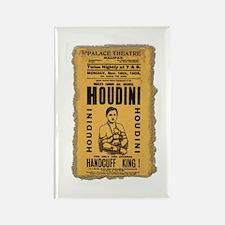 Vintage Houdini Poster Rectangle Magnet