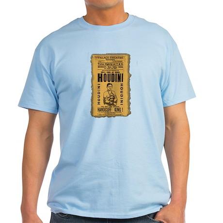 Vintage Houdini Poster Light T-Shirt