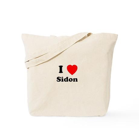 I Heart Sidon Tote Bag