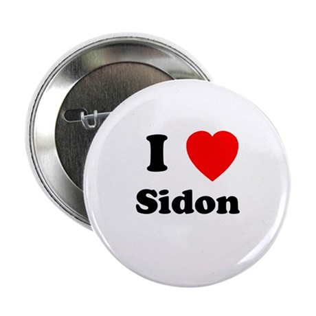 """I Heart Sidon 2.25"""" Button (10 pack)"""