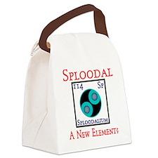 Sploodalium Canvas Lunch Bag