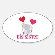 Big Sister Elephant Decal