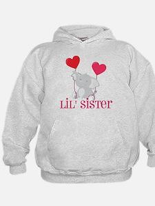 Little Sister Elephant Hoodie