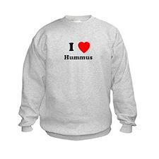 I Heart Hummus Sweatshirt