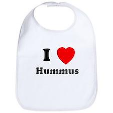 I Heart Hummus Bib