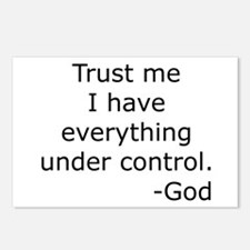 Trust Me... God Postcards (Package of 8)
