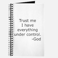 Trust Me... God Journal