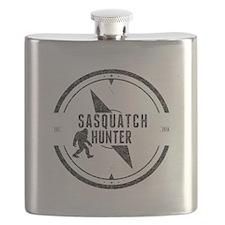 Sasquatch Hunter (Distressed) Flask
