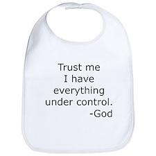 Trust Me... God Bib