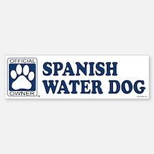 SPANISH WATER DOG Bumper Bumper Bumper Sticker