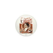 Retro Harry Houdini Poster Mini Button (100 pack)