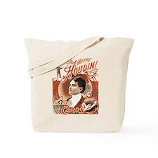 Retro Harry Houdini Poster Tote Bag