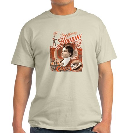 Retro Harry Houdini Poster Light T-Shirt