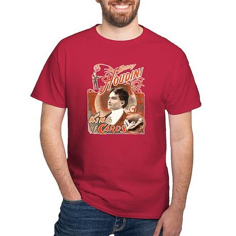 Retro Harry Houdini Poster Dark T-Shirt