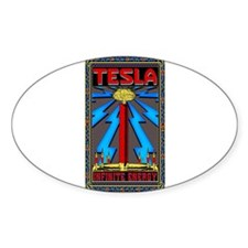 Cute Tesla coil Decal