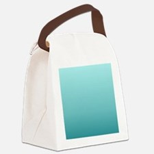 trendy girly ombre Canvas Lunch Bag