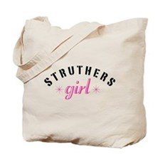 Struthers Girl Tote Bag