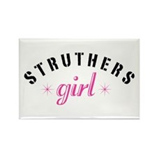 Struthers Girl Rectangle Magnet