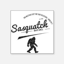 Sasquatch Bar And Grill (Distressed) Sticker