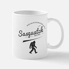 Sasquatch Bar And Grill (Distressed) Mugs